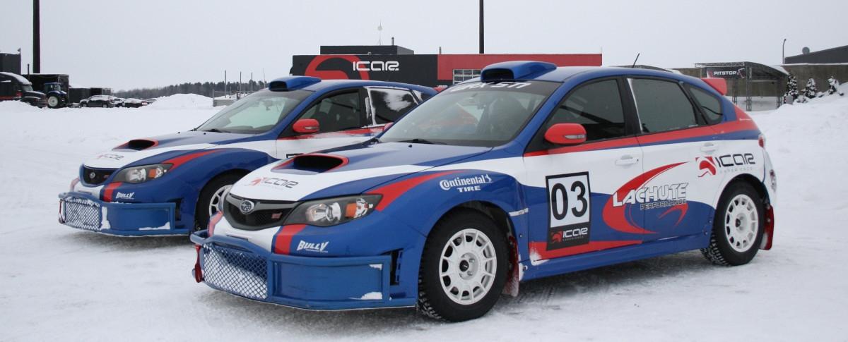 Icar Expérience (rallye sur neige)