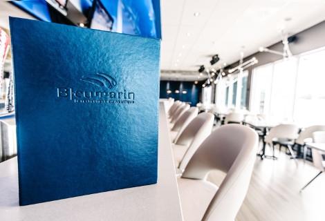 Le Bleumarin, Restaurant du Nautique