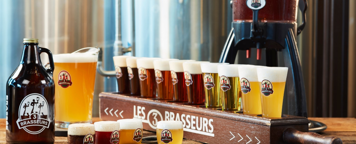 3 Brasseurs - Centropolis / Laval