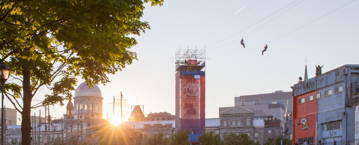 Montreal Zipline