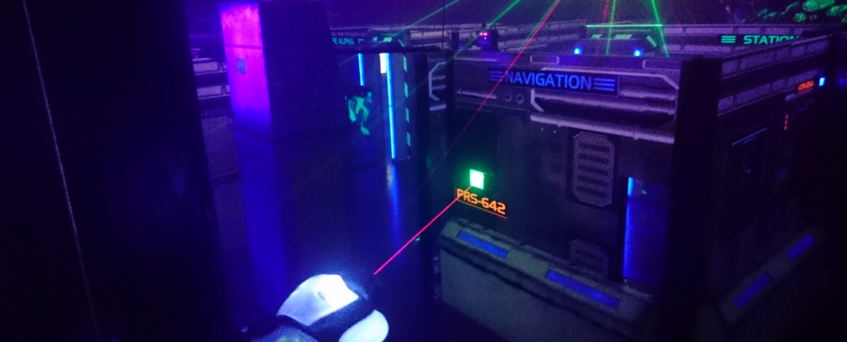 District 1 Lasertag