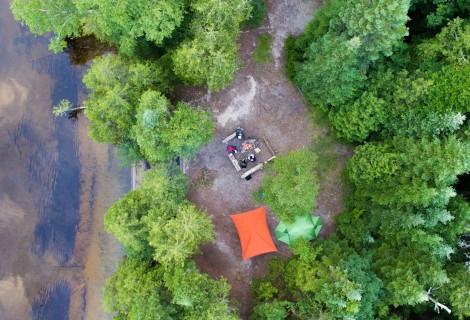 Canot-camping La Vérendrye