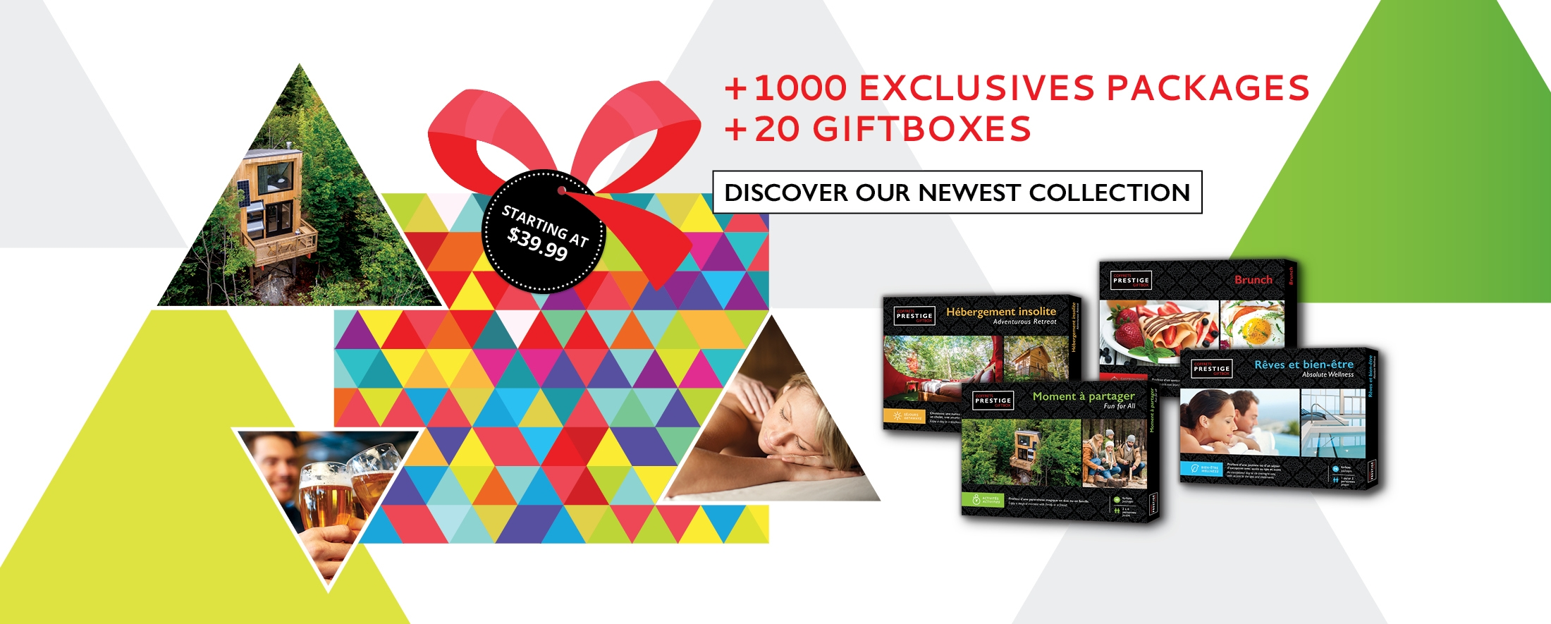 +1000 EXCLUSIVES PACKAGES +20 GIFTBOXES