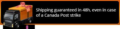 Livraison garantie en 48h, même en cas de grève de Postes Canada